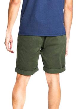 Short Tommy Jeans Essential Chino Vert Homme
