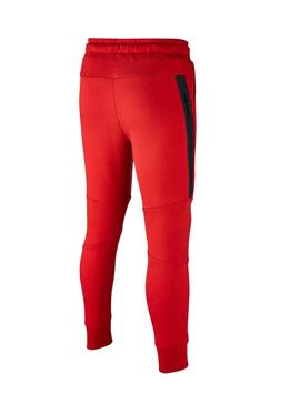 Pantalon Nike Tech Fleece Rouge