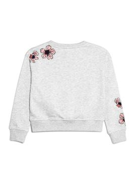 Sweat Pepe Jeans Belle Gris Fille