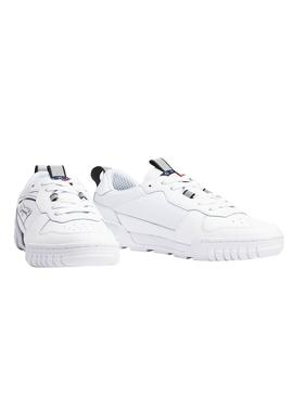 Baskets Tommy Jeans Signature Blanc Homme