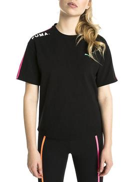 T-Shirt Puma Black Chase