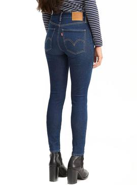 Jeans Levis Mile High On the Rise Femme