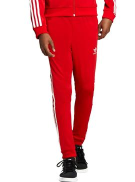 misericordia Almuerzo Real  Pantalon Adidas Superstar Rouge Enfante