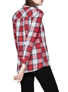 Chemise Pepe Jeans Dolly Cadres Femme