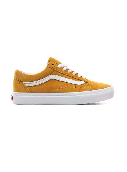 vans femme old skool jaune