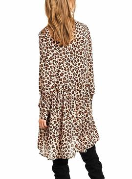 Vila Saffa Animal Dress Femme