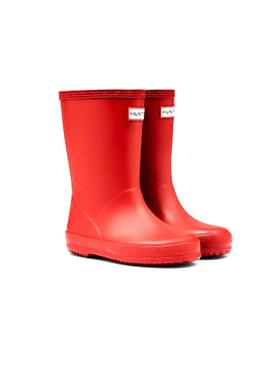 Boots Hunter Kids Classic Rouge