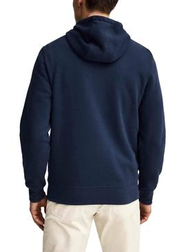 Sweat Hackett Classe Bleu Homme