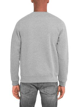 Sweat Hackett Classic Gris Homme