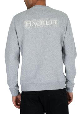 Sweat Hackett Archive Gris Homme