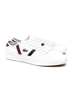 Baskets Lacoste Sideline Rouge Homme