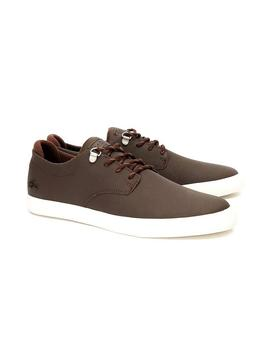 Chaussures Lacoste Esparre Brown Homme