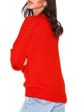Pull Only Lanelia Rouge Femme