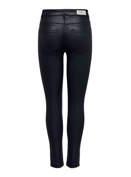 Pantalon Only Flush Coat Bleu Marine Femme