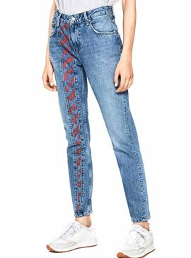 Jeans Pepe Jeans Violet Archive Femme
