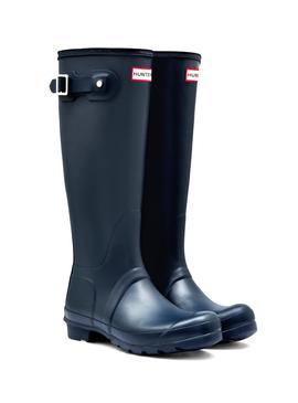 Boots Hunter Original Tall Bleu