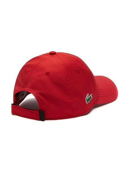 casquette lacoste homme rouge