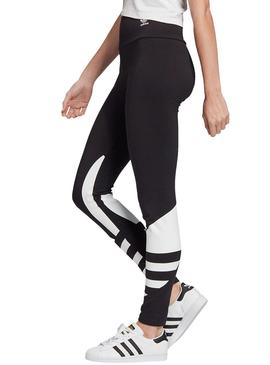 Tights Adidas Logo Black For Femme