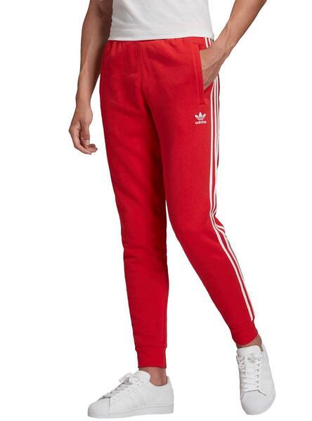 Pantalon 3 Stripes Rouge adidas   adidas France