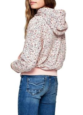Sweat Pepe Jeans Destiny Pink Pour Fille
