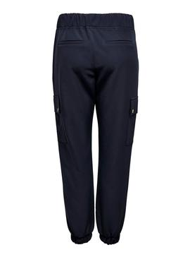 Pantalon Only Glowing Bleu Femme