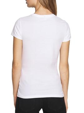 T-Shirt Only Cindy Paris Blanc Femme