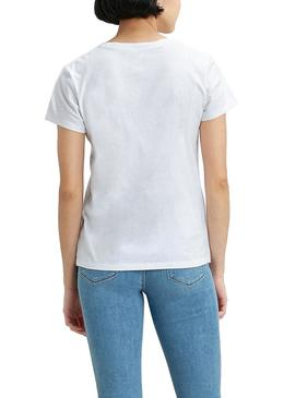 T-Shirt Levis Perfect Serif Logo Multi Femme