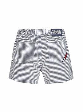 Short Tommy Hilfiger Stripe pour fille