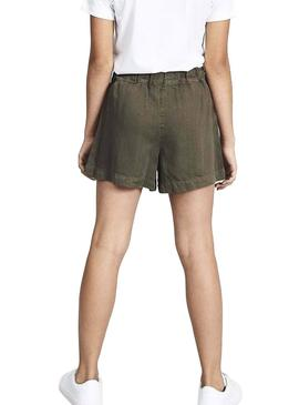 Shorts Name It Feefee Vert pour Fille