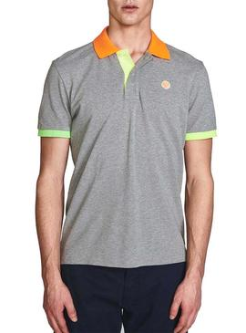 Polo North Sails Block Gris pour Homme