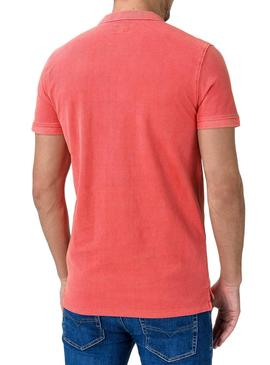 Polo Pepe Jeans Vicent Coral pour Homme
