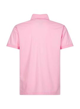 Polo Tommy Hilfiger Regular Rosa pour Homme