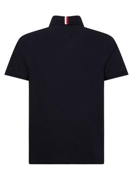 Polo Tommy Hilfiger Icon Bleu Marin pour Homme