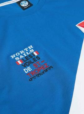 T-Shirt North Sails Saint Tropez Colorblock
