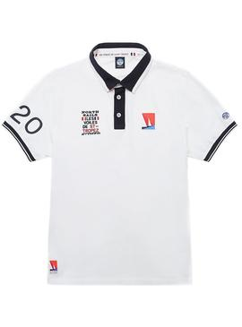 Polo North Sails Saint Tropez Blanc pour Homme