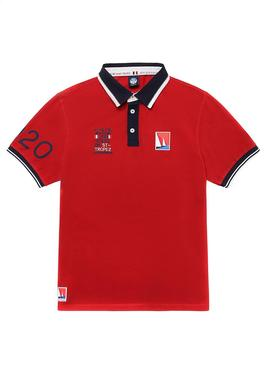 Polo North Sails Saint Tropez Rouge pour Homme