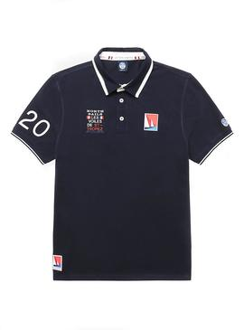 Polo North Sails Saint Tropez Bleu Marine Homme