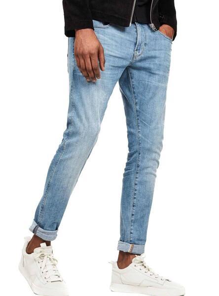Jeans G Star Revend LT Bleu Homme