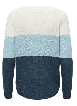 Pull Only Geena Bleu marine pour Femme