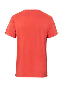 T-Shirt G-Star Reflective Graphic Naranja Homme