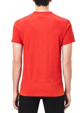 T-Shirt G-Star Raw Compact Rouge pour Homme